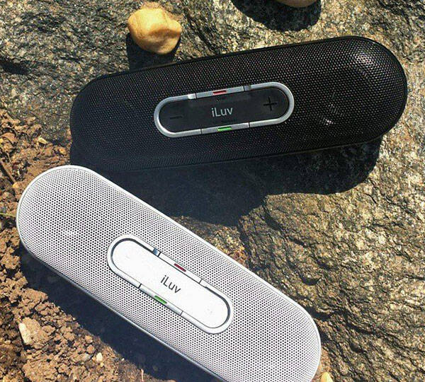 iLuv Rollick Portable Wireless Bluetooth Stereo Speaker - http://coolthings.us