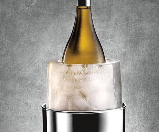 Ice Bottle Chiller Mold - http://coolthings.us