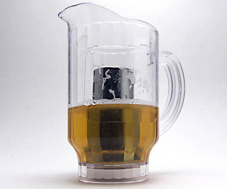Ice Core Beer Pitcher - http://coolthings.us