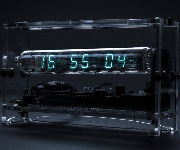 Ice Tube Clock Kit - http://coolthings.us