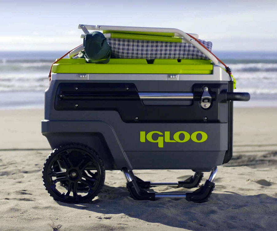Igloo Trailmate All-Terrain Cooler - http://coolthings.us