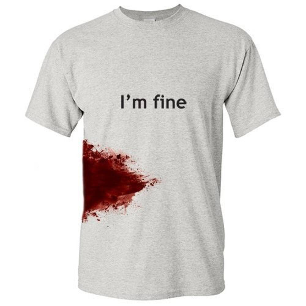 I'm fine T-Shirt - http://coolthings.us