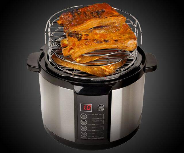 Indoor Pressure Smoker - http://coolthings.us
