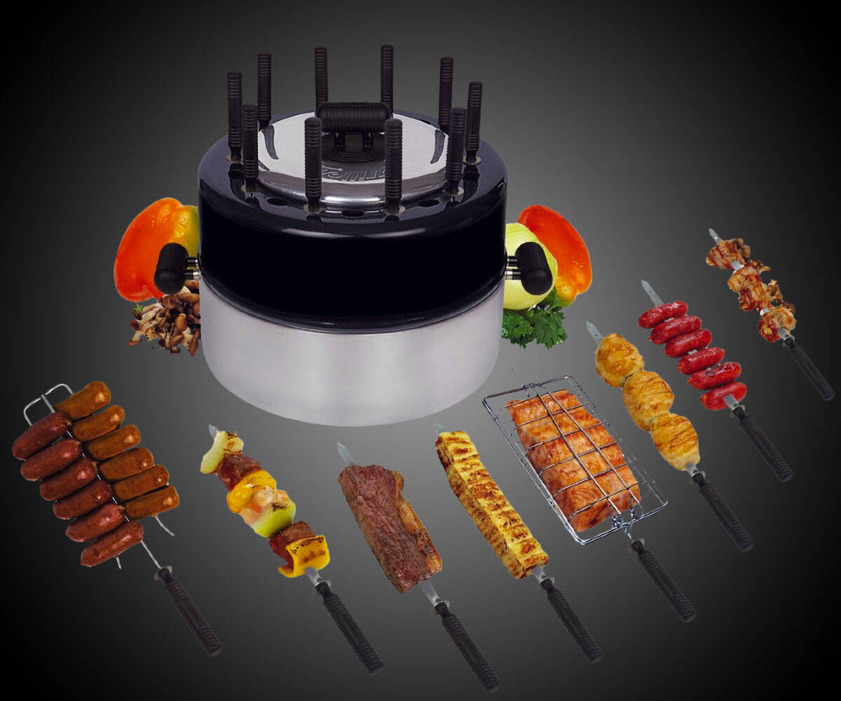 Indoor & Portable Brazilian Grill - http://coolthings.us
