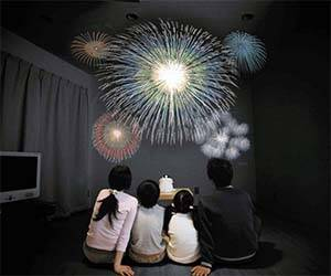 Indoors Fireworks Show - http://coolthings.us