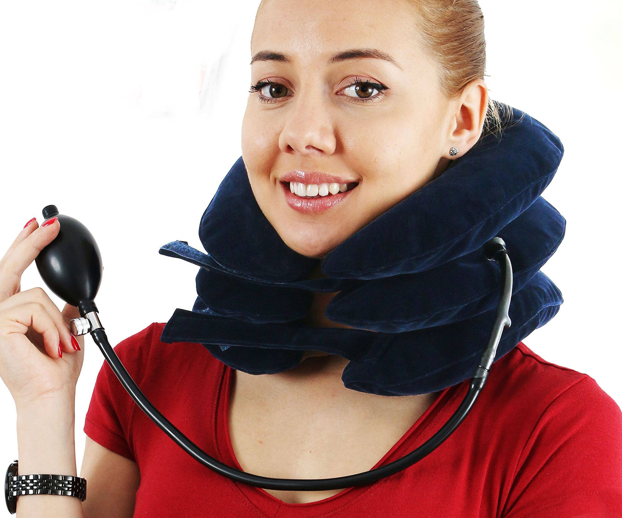 Inflatable Neck Stretcher Collar - http://coolthings.us