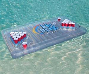 Inflatable Beer Pong Table - http://coolthings.us