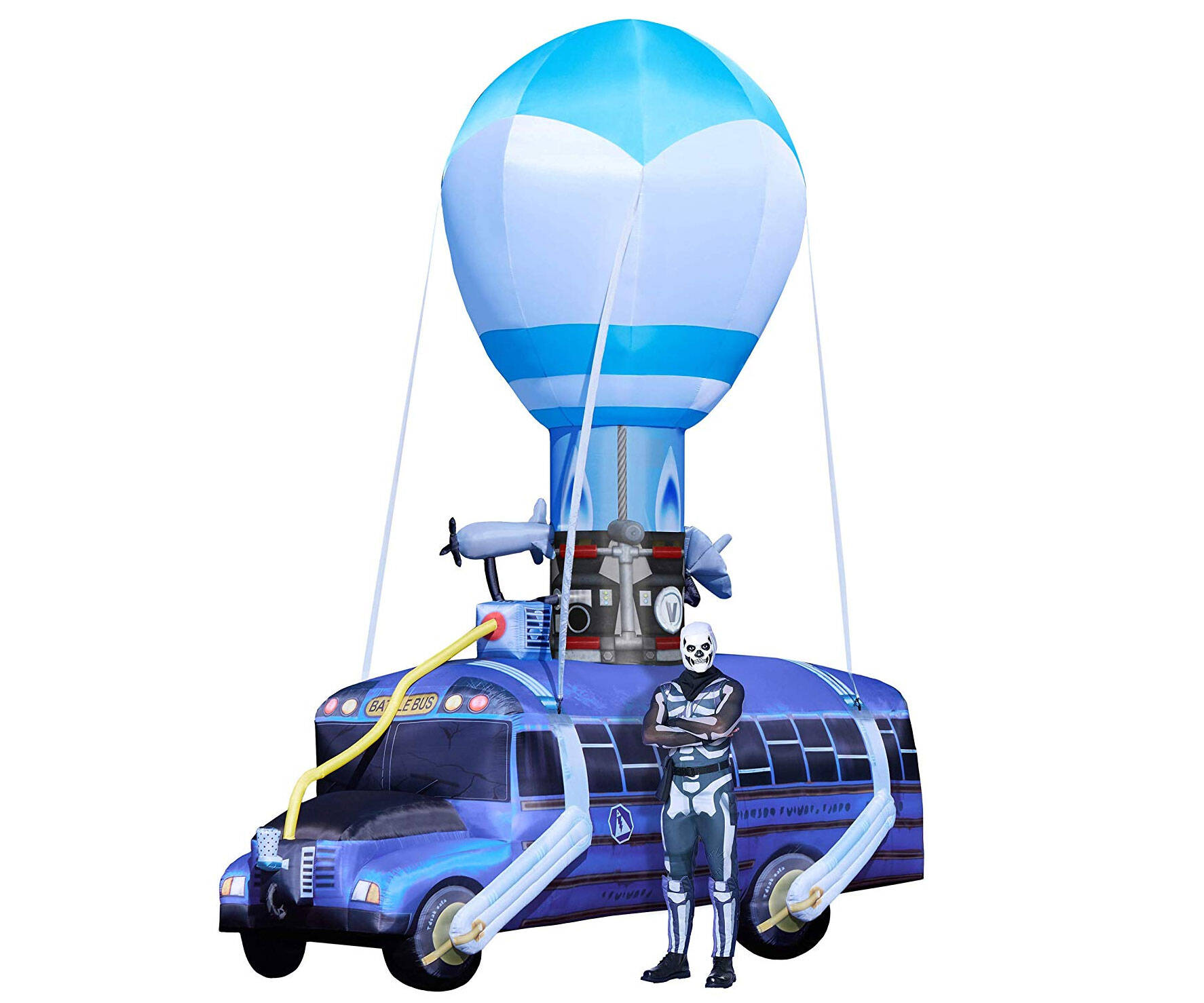 Fortnite 17.5 Ft Battle Bus Inflatable - http://coolthings.us