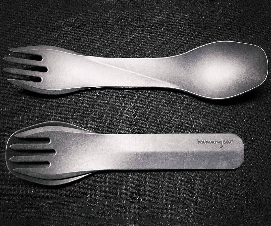 Interlocking Portable Eating Utensils - coolthings.us