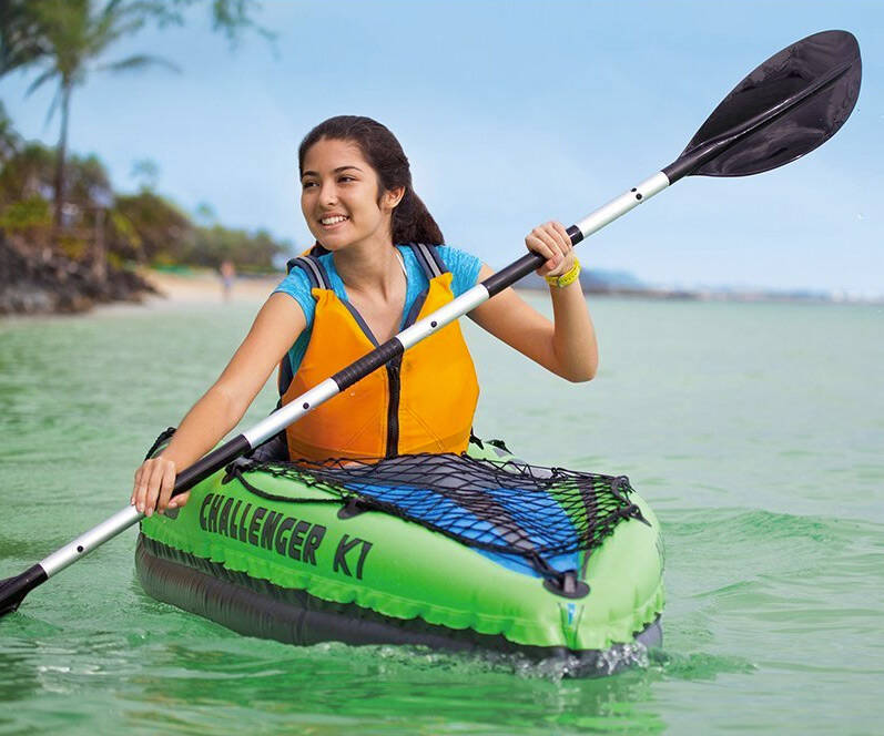 Intex Challenger Inflatable Kayak Set - http://coolthings.us