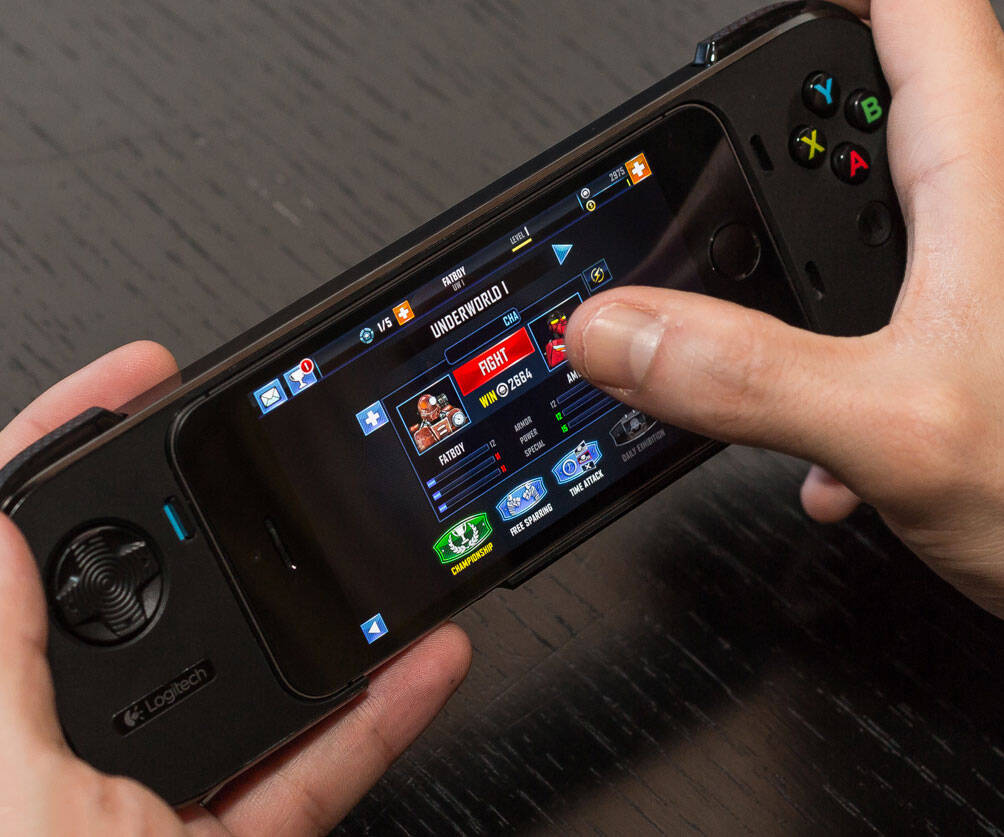 iPhone Gaming Controller - http://coolthings.us