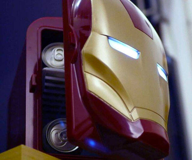Iron Man Mini Fridge - coolthings.us