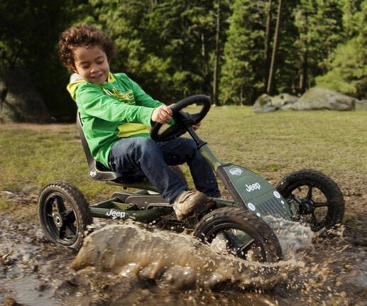 Jeep Pedal Kart - http://coolthings.us
