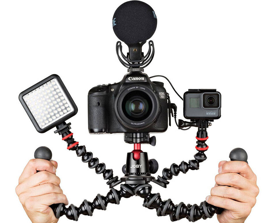 Joby GorillaPod Camera Rig - http://coolthings.us