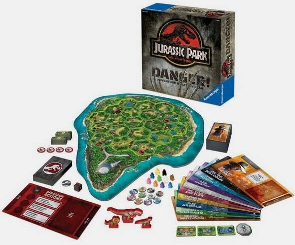 Jurassic Park Adventure Strategy Game - http://coolthings.us