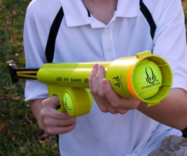 K-9 Kannon Ball Launcher - http://coolthings.us