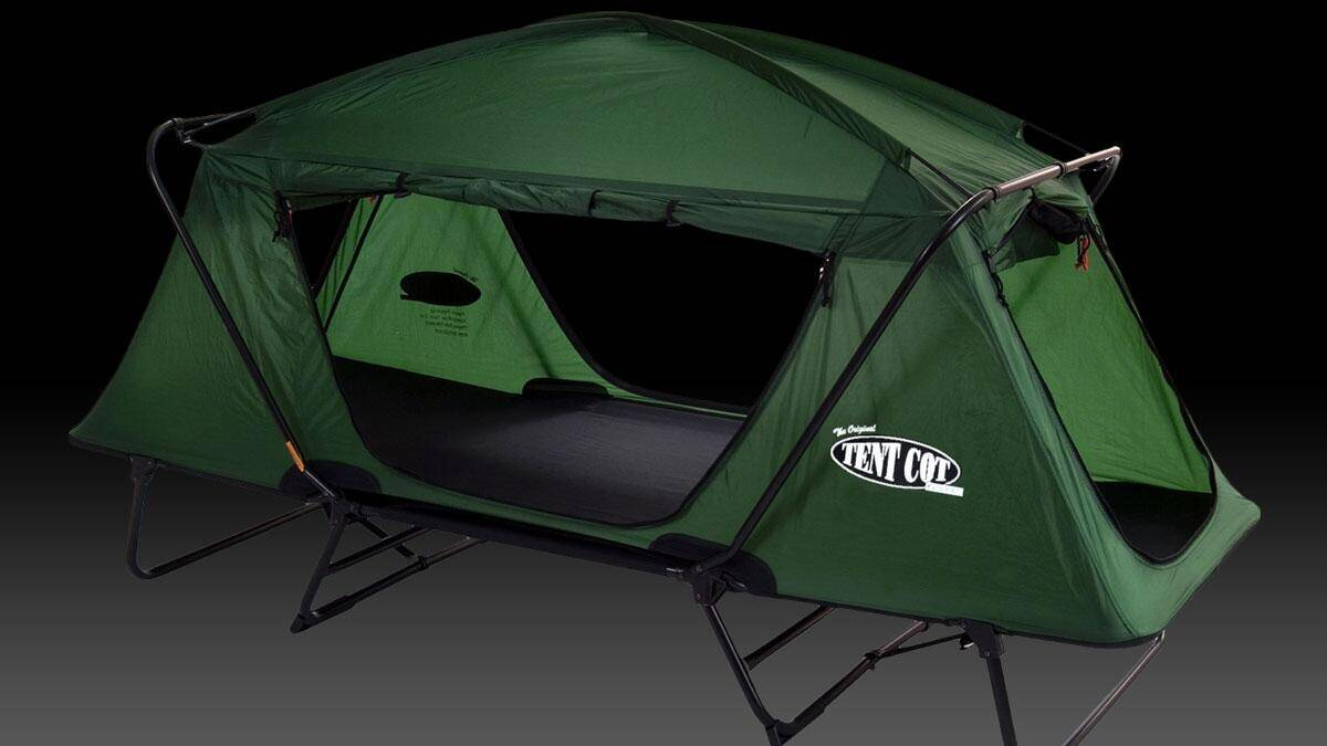 Kamp-Rite Oversize Tent Cot - http://coolthings.us