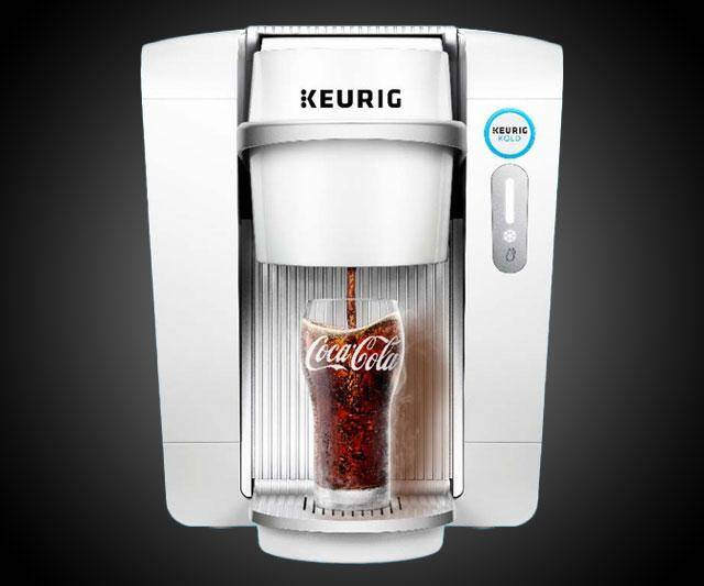 Keurig Kold Carbinated Drink Maker - http://coolthings.us