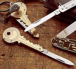 Key Shaped Knife - coolthings.us