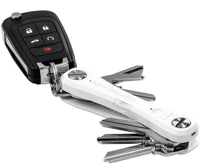 Keysmart Pro Organizer With Tile - http://coolthings.us