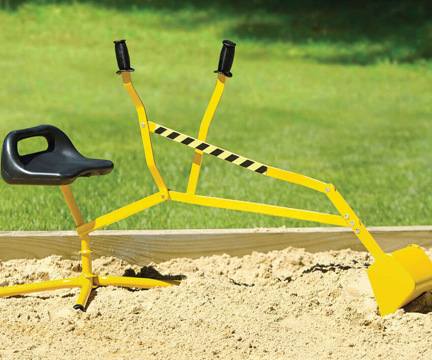 Playground Sand Excavator Toy - http://coolthings.us