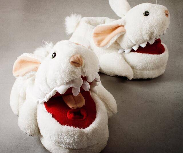 Killer Rabbit Slippers - http://coolthings.us
