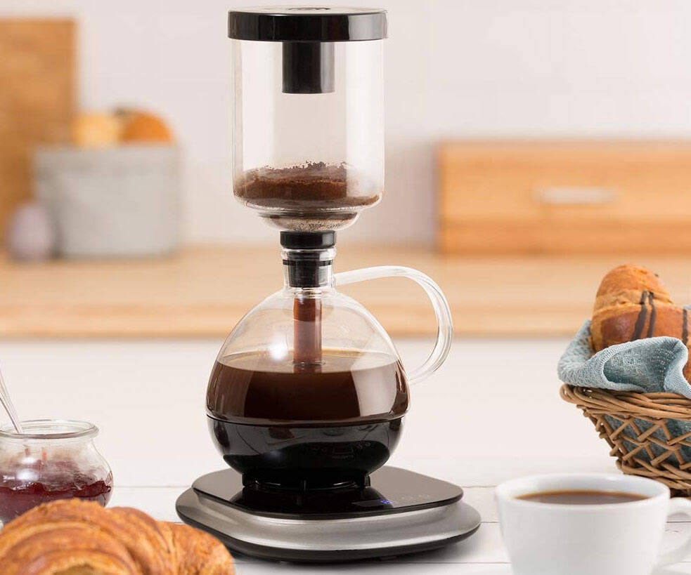 Syphon Vacuum Coffee Maker - http://coolthings.us