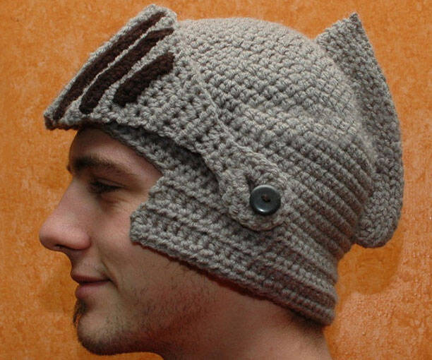 Knight Helmet Hat - http://coolthings.us