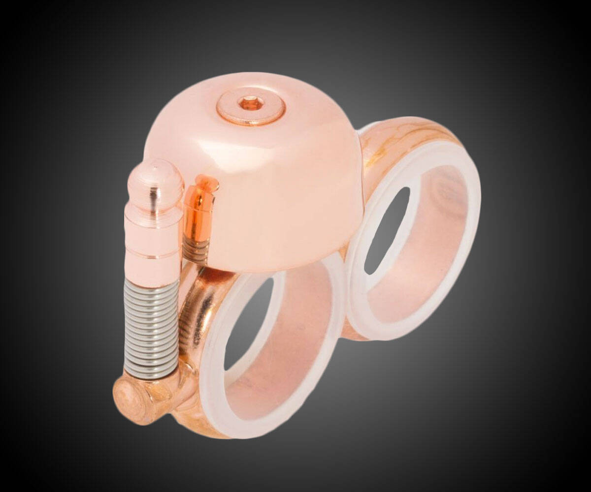 Knuckle Duster Safety Bell - http://coolthings.us