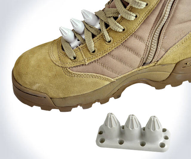 Self Defense Shoelace Inserts - http://coolthings.us