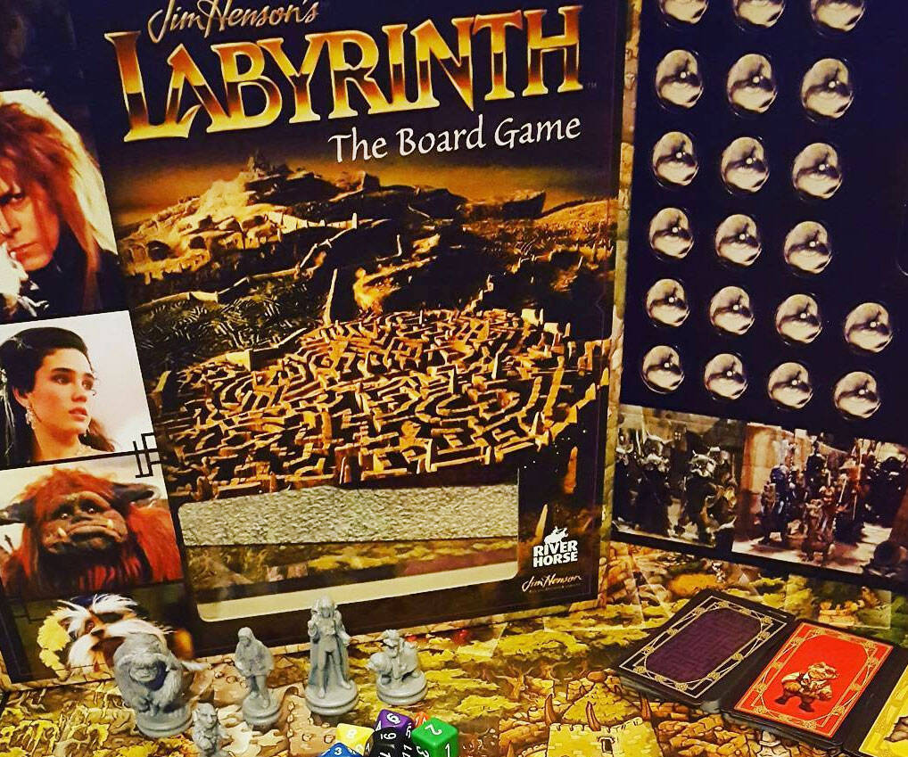 Labyrinth: The Board Game - http://coolthings.us