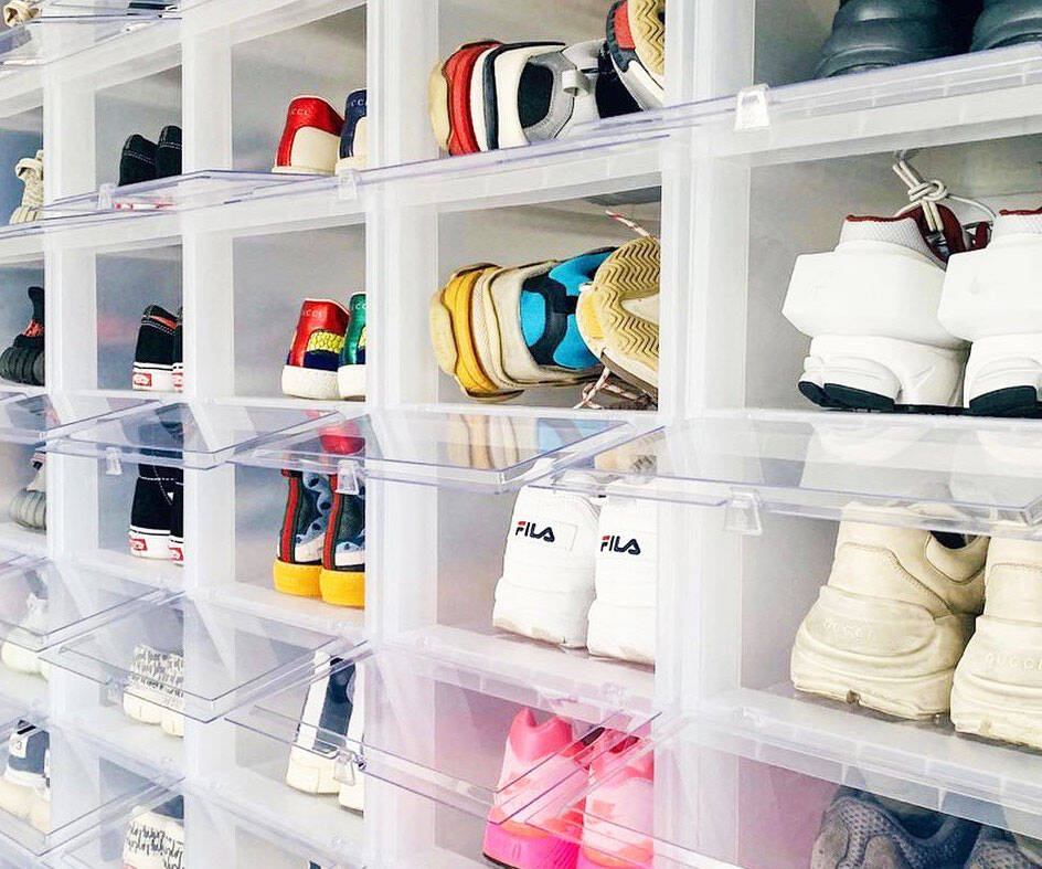 Stackable Shoe Box Drawers - http://coolthings.us