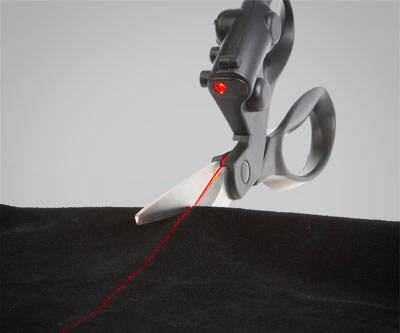 Laser Guided Scissors - http://coolthings.us