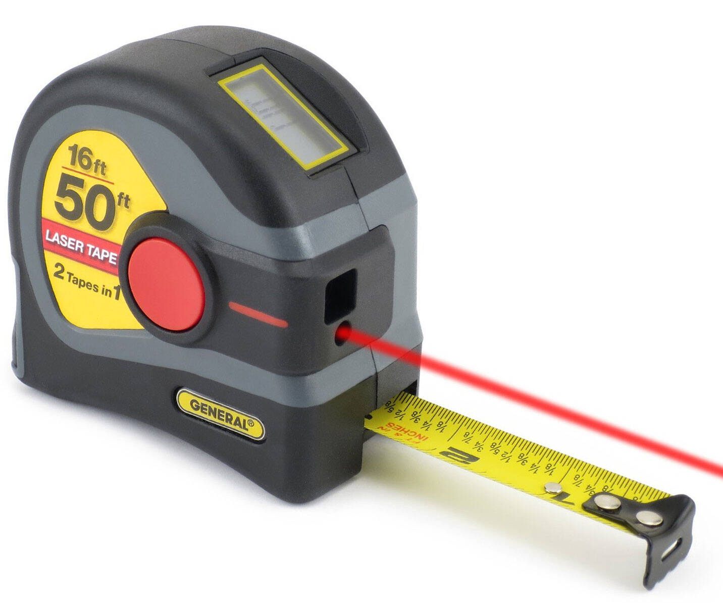 2-In-1 Laser Tape Measure - http://coolthings.us