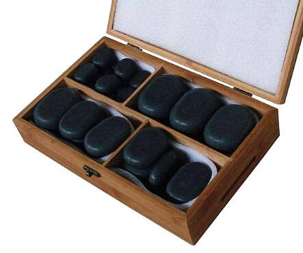 Lava Hot Stone Massage Kit - http://coolthings.us