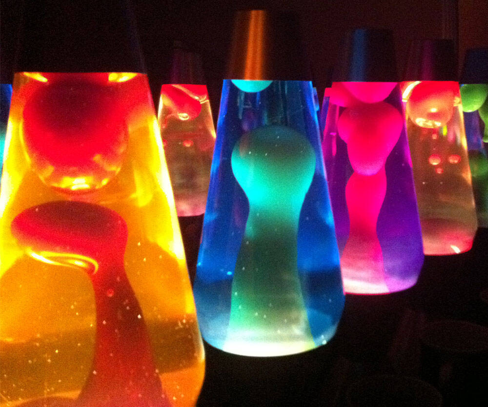Groovy Lava Lamps - http://coolthings.us