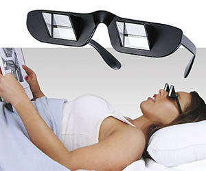 Lazy Glasses - http://coolthings.us