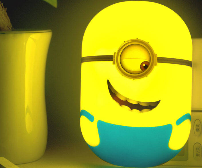 LED Minion Nightlight - http://coolthings.us