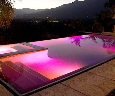 LED Pool Light - http://coolthings.us
