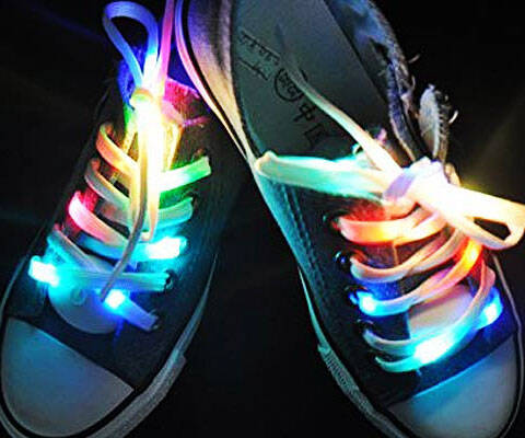 Light Up LED Shoelaces - http://coolthings.us