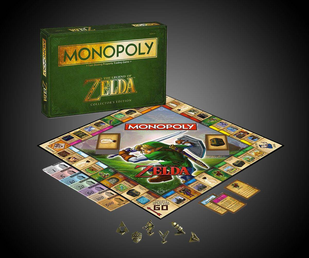 Legend of Zelda Collector's Edition Monopoly - coolthings.us