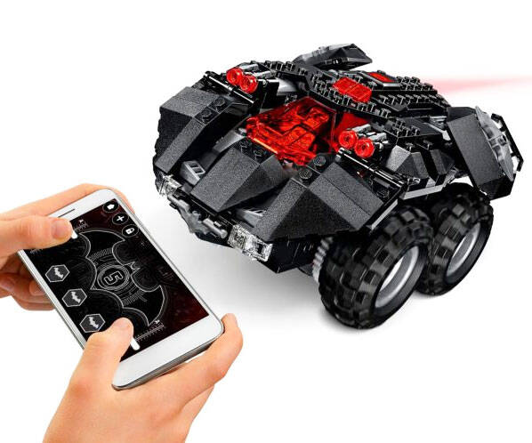 LEGO Batman App Controlled Batmobile - http://coolthings.us