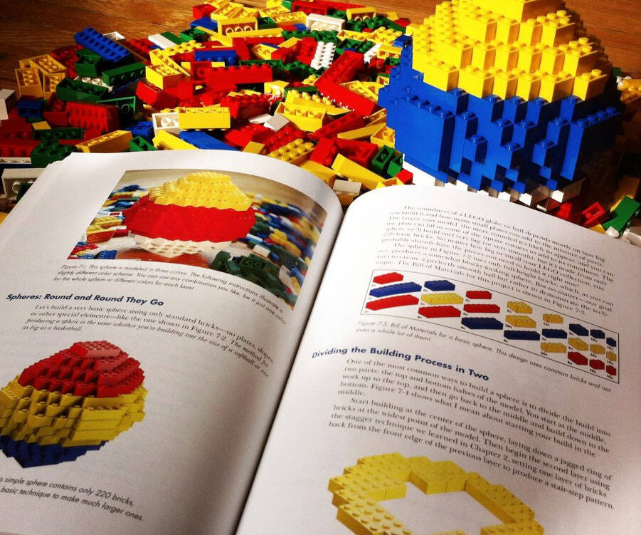 LEGO Builder's Guide Book - http://coolthings.us