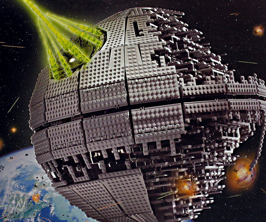LEGO Death Star - http://coolthings.us