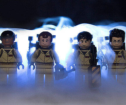 LEGO Ghostbusters Car - http://coolthings.us