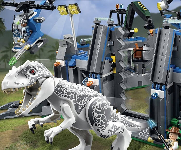 Jurassic World LEGO Set - http://coolthings.us