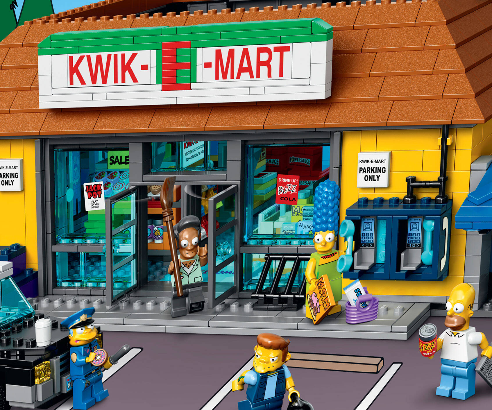The Simpsons LEGO Kwik-E-Mart - http://coolthings.us