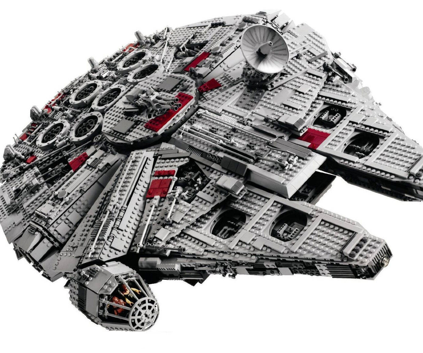 LEGO Millennium Falcon - coolthings.us