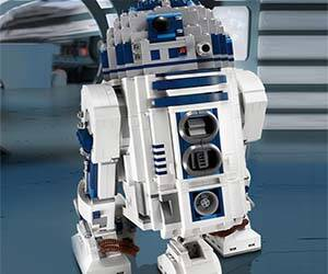 LEGO R2-D2 - http://coolthings.us