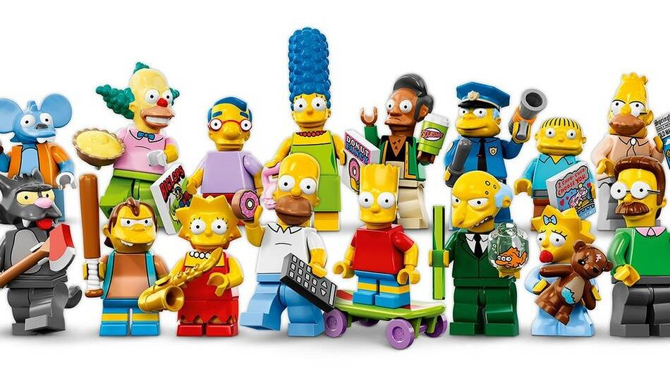 LEGO Simpsons Minifigures - http://coolthings.us